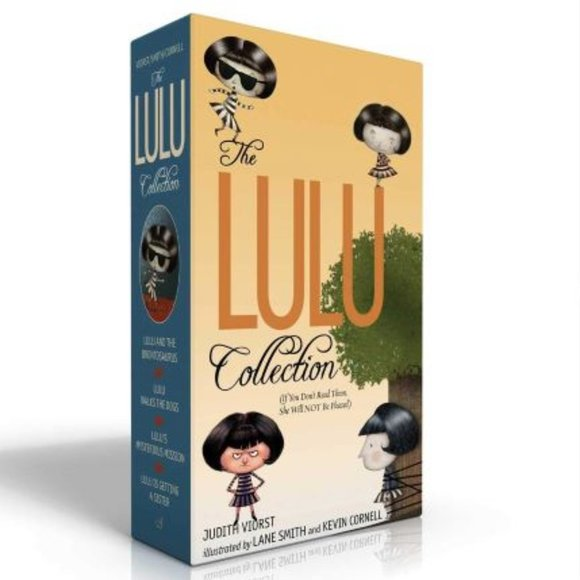 Atheneum Books for Young Readers Other - The Lulu Collection Boxed Set NEW w/Remainder Mark